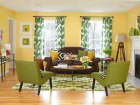 What Color Curtains Go With Yellow Walls what color curtains with yellow walls and brown couch also furniture
