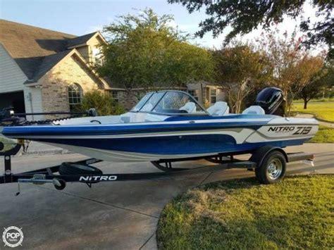 nitro boats san antonio nitro boats for sale in texas boatinho