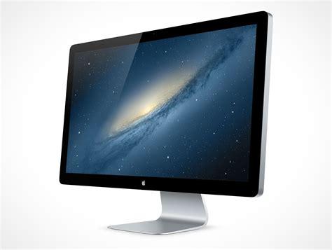 Monitor Apple thunderbolt003 market your psd mockups for thunderbolt