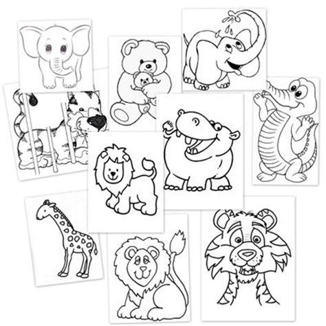 imagenes de animales juntos para colorear plantillas con dibujos de animales salvajes para colorear