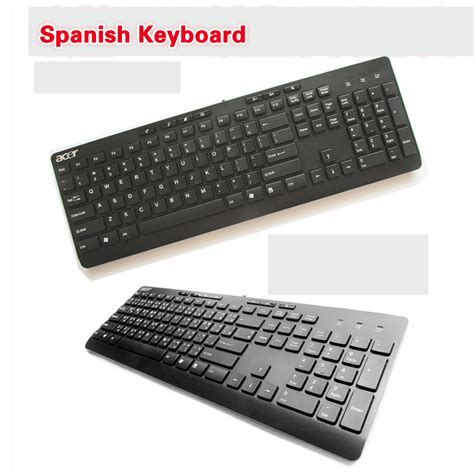 Keyboard Laptop Acer Original brand chocolate thin waterproof ps2 interface desktop keyboard original acer keyboard