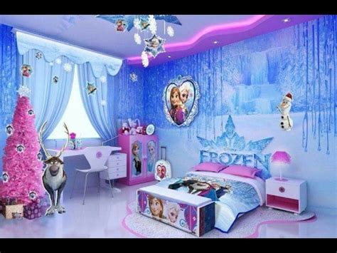 little girl bedroom ls 50 cute little girl bedroom themed frozen youtube