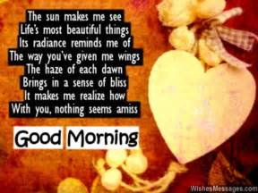 Good morning poems for girlfriend sms text messages