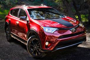 Toyota Makes 2018 Toyota Rav4 Adventure Makes Its Debut In The Windy