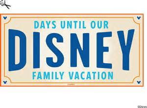 diy create your own walt disney world vacation countdown
