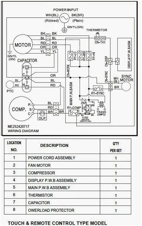 electrical wiring diagrams  air conditioning systems