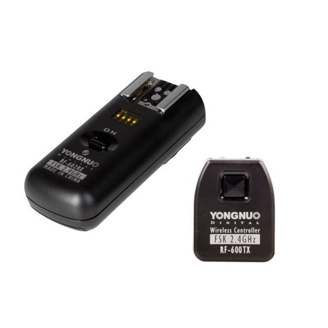 Rf 602 Nikon yongnuo rf 602 n wireless flash trigger set voor nikon