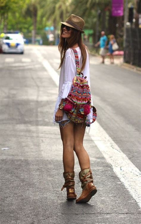 hippie look new street style boho chic gypsy backpack for a cool
