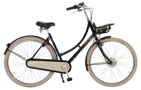 E Bike Transportfiets by Postbike Bianco E Bike Postbike