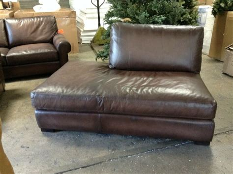 Pottery Barn Leather Couches by Pottery Barn Turner Leather Sofa Sectional Left