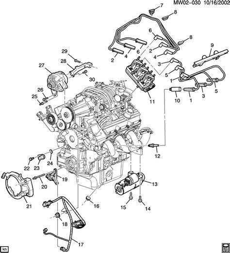 2000 buick century engine diagram gm 3 8 engine diagram sensor location free image wiring