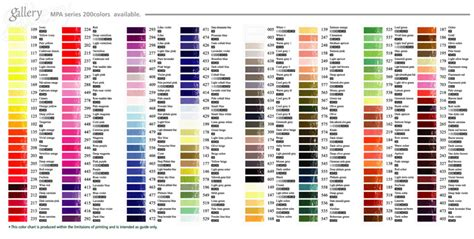 colors of the world all the colors in the world chart search