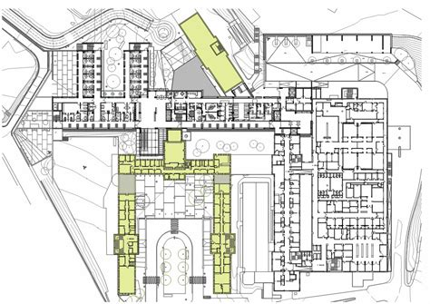 Large Floor Plans gallery of hospital asilo of granollers pinearq 19