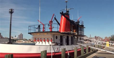 nyc s next floating restaurant is a former fdny fireboat - Fire Boat Restaurant Nyc