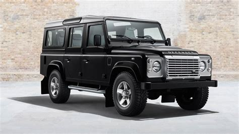 land rover defender land rover releases a new defender heritage program
