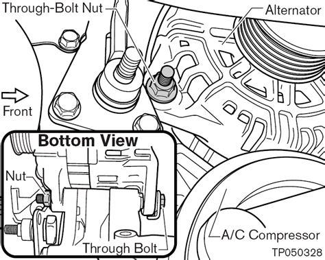 2007 nissan maxima alternator 2003 2007 nissan murano alternator replacement procedure