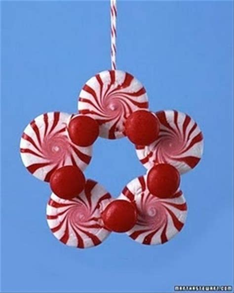 peppermint christmas ornaments fun holiday crafts