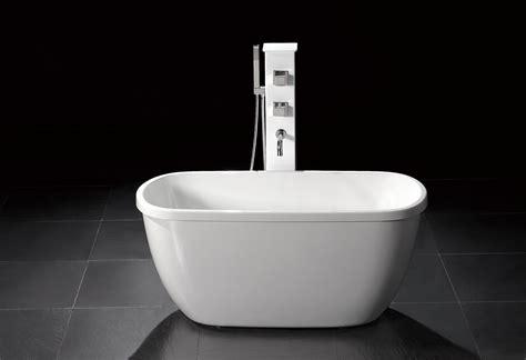 m 1068 small modern free standing bathtub faucet
