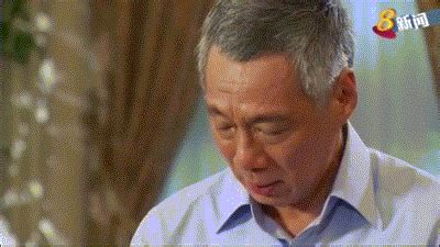 li xiuqi lee hsien loong in the cut and thrust of politics pm broke down for the