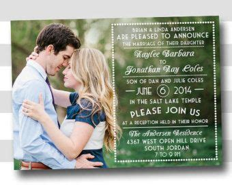 Wedding Announcement Search by 25 Best Ideas About Wedding Announcements On