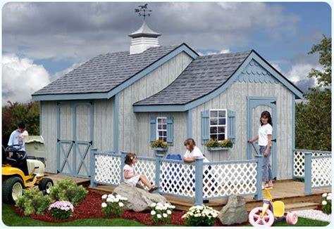 Garden Shed Playhouse Combo by Faru