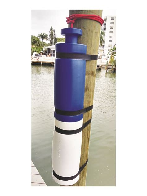 boat dock piling bumpers 26 in blue seahorse piling bumpers 26in seahorse front