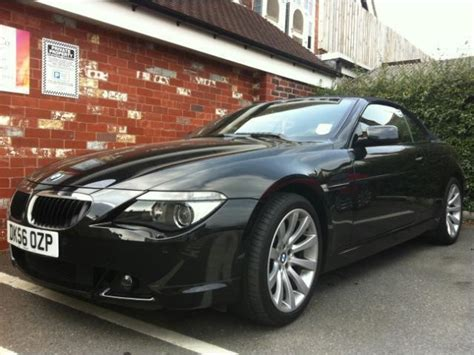 used bmw 6 series 2006 petrol 630i sport 2dr convertible