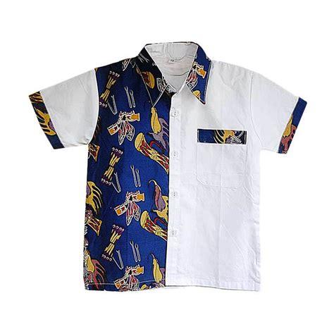 Kemeja Laki Laki Batik Baduy 6 jual mayura batik kemeja batik anak laki laki lucky biru harga kualitas terjamin