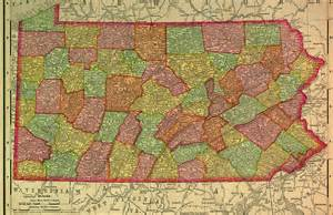 Historical maps of pennsylvania
