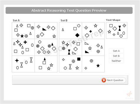 abstract reasoning test abstract reasoning test practice free exles