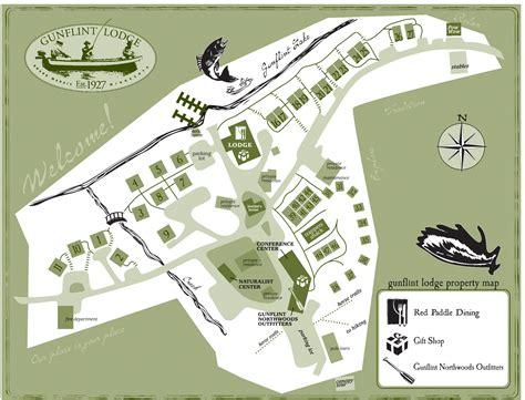 big cedar lodge map gunflint lodge minnesota family honeymoon resort