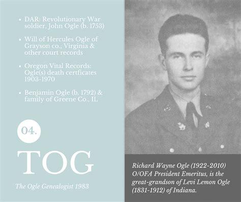 Ogle County Court Records Ogle Genealogist 04 169 1983 Ogle Ogles Family Association Oofa
