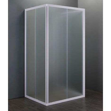 box doccia 3 pareti box doccia acrilico 3 lati apertura scorrevol opaco