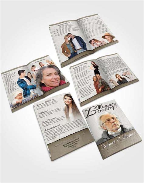 destiny card template booklet memorial folder vintage destiny funeralparlour