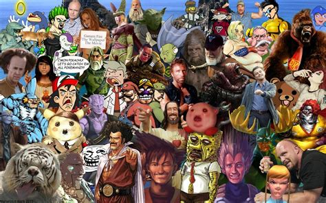 Memes Collage - character collage wallpaper by marvelousmark on deviantart