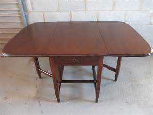 Drop Leaf Rectangular Dining Table Edwardian Mahogany Rectangular Drop Leaf Gate Leg Drawer Dining Table 239919