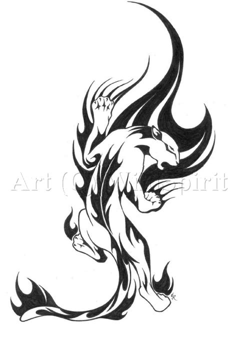 panther tribal tattoo panther images designs