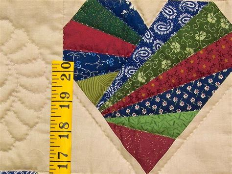 Patchwork Wall Hangers - patchwork hearts quilt terrific adeptly made amish