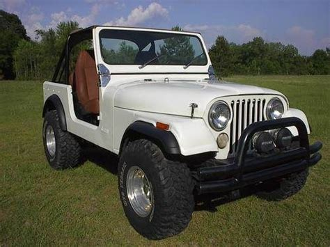 1976 Jeep Cj7 Sell Used 1976 Jeep Cj7 New 6cyl Engine Auto Trans W