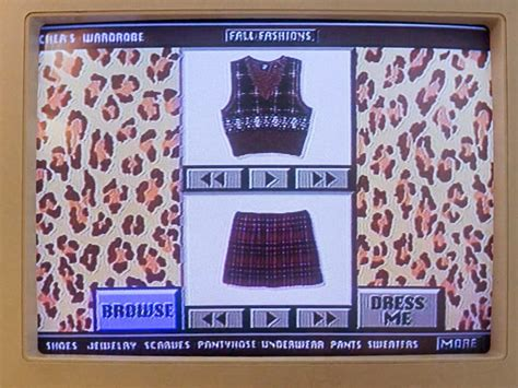 Cher Horowitz Closet by Fashion