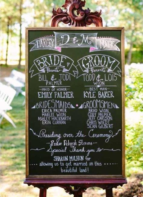Wedding Album Easel by Large Wedding Chalkboard Rustic Wedding Chalkboard