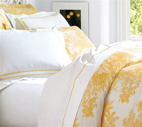 Yellow And White Bedding Sets Matine Toile Duvet Cover With White And Yellow Duvet Set And Traditional Master Bedroom