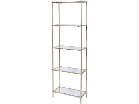 Gold And Glass Shelving Unit Gold Shelving Unit Gold Shelving Unit