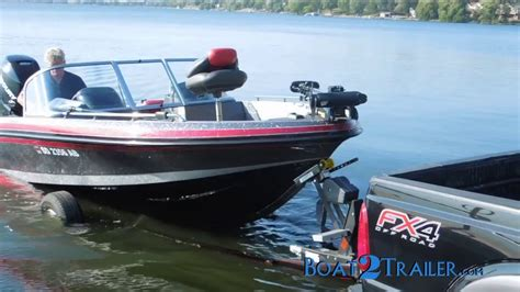 boat launching system easily launch and load your boat - Bow Loading Boat