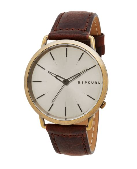Ripcurl Limited Gold ultra gold leather mens surf style