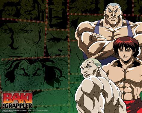 anime baki mp4 baki the grappler temporada 1 y 2 mega identi