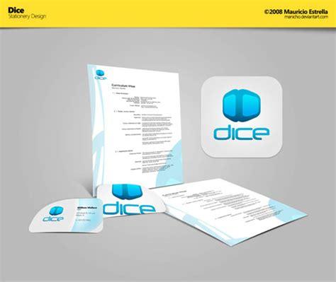 business card letterhead inspiration dice stationery design letterhead and logo design