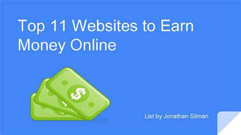 Top Sites To Make Money Online - top 11 websites to earn money online by make simple money issuu