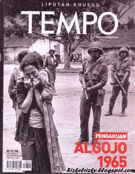 film g30s pki 1965 majalah tempo edisi khusus g30s pki pengakuan algojo