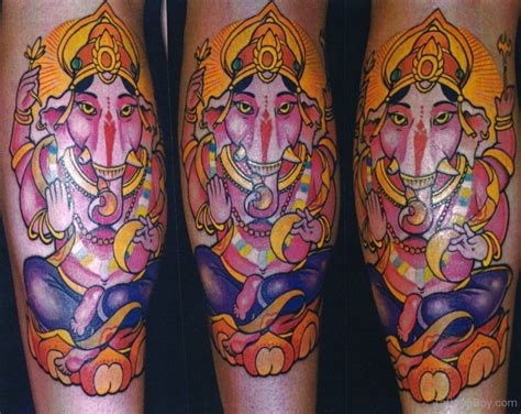 ganesha tattoo cute hinduism tattoos tattoo designs tattoo pictures page 13